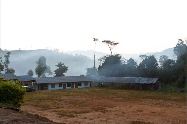 Thailand Hilltribe Schoolyard