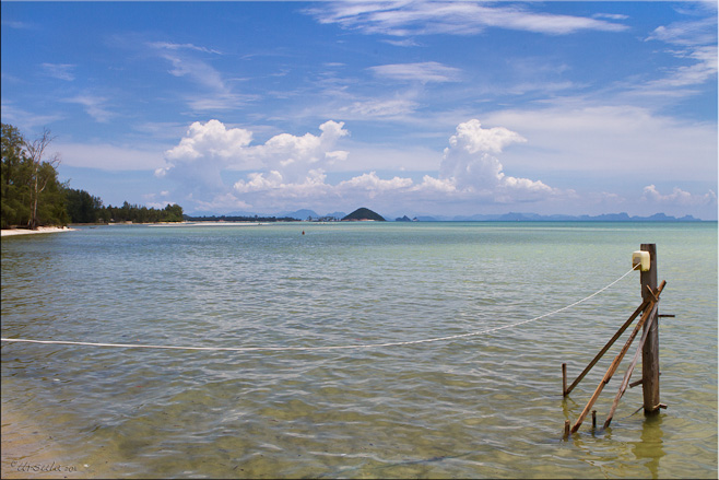 Still water along Nathon, Koh Samui