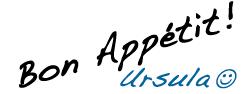 Text: Bon Appétit