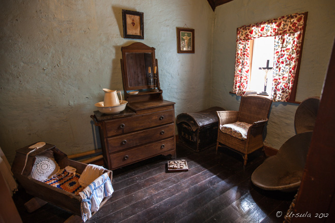 Master Bedroom at Loop Head House, Bunratty Folk Park