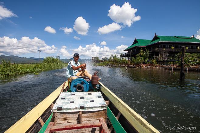 Thaung Tho Kyaung Market Inle Lake Myanmar