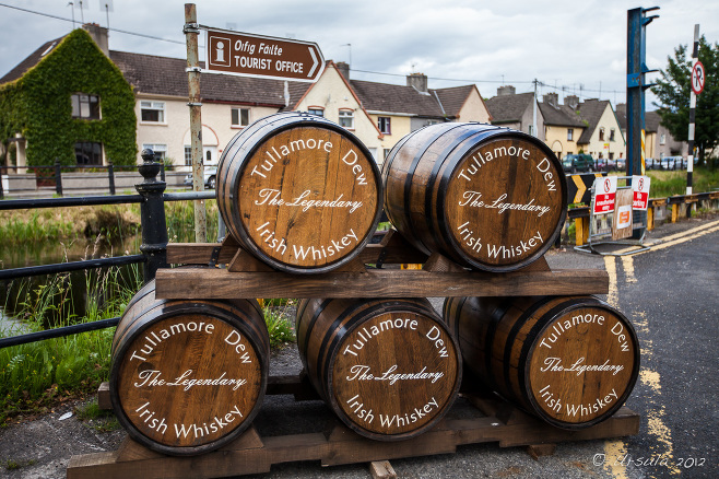 Tullamore Dew Barrels, The Grand Canal, Tullamore Co Offaly Ireland