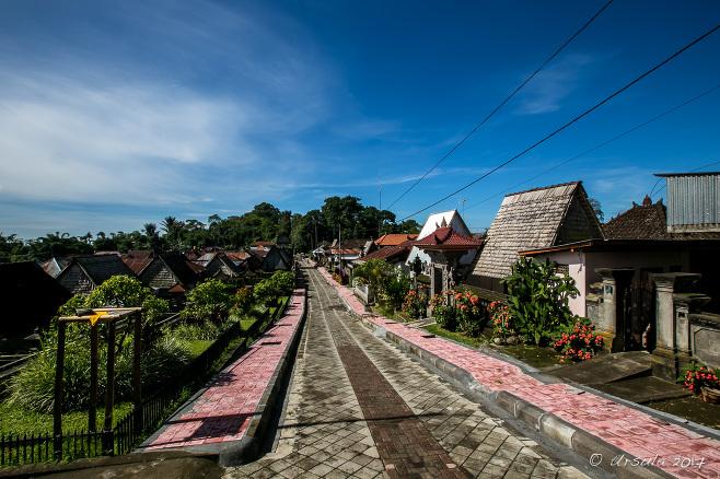 Village around Bayung Gede, Bangli Regency, Bali