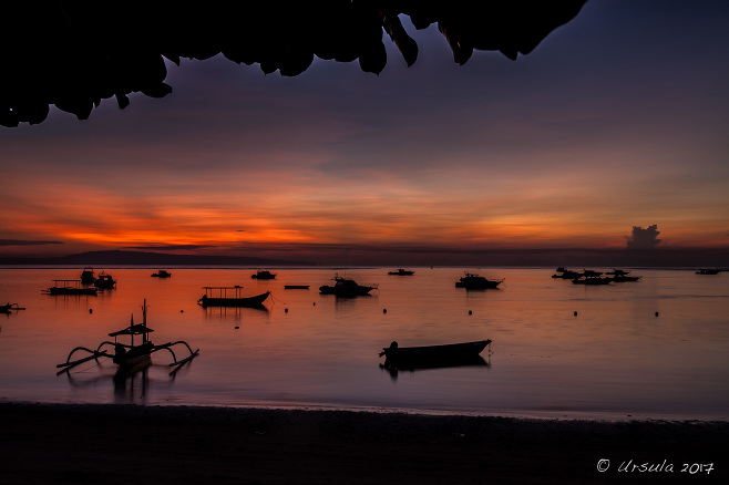 Morning on Sanur Beach, Bali
