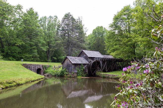 Mabry Mill, Blue Ridge Parkway VA USA